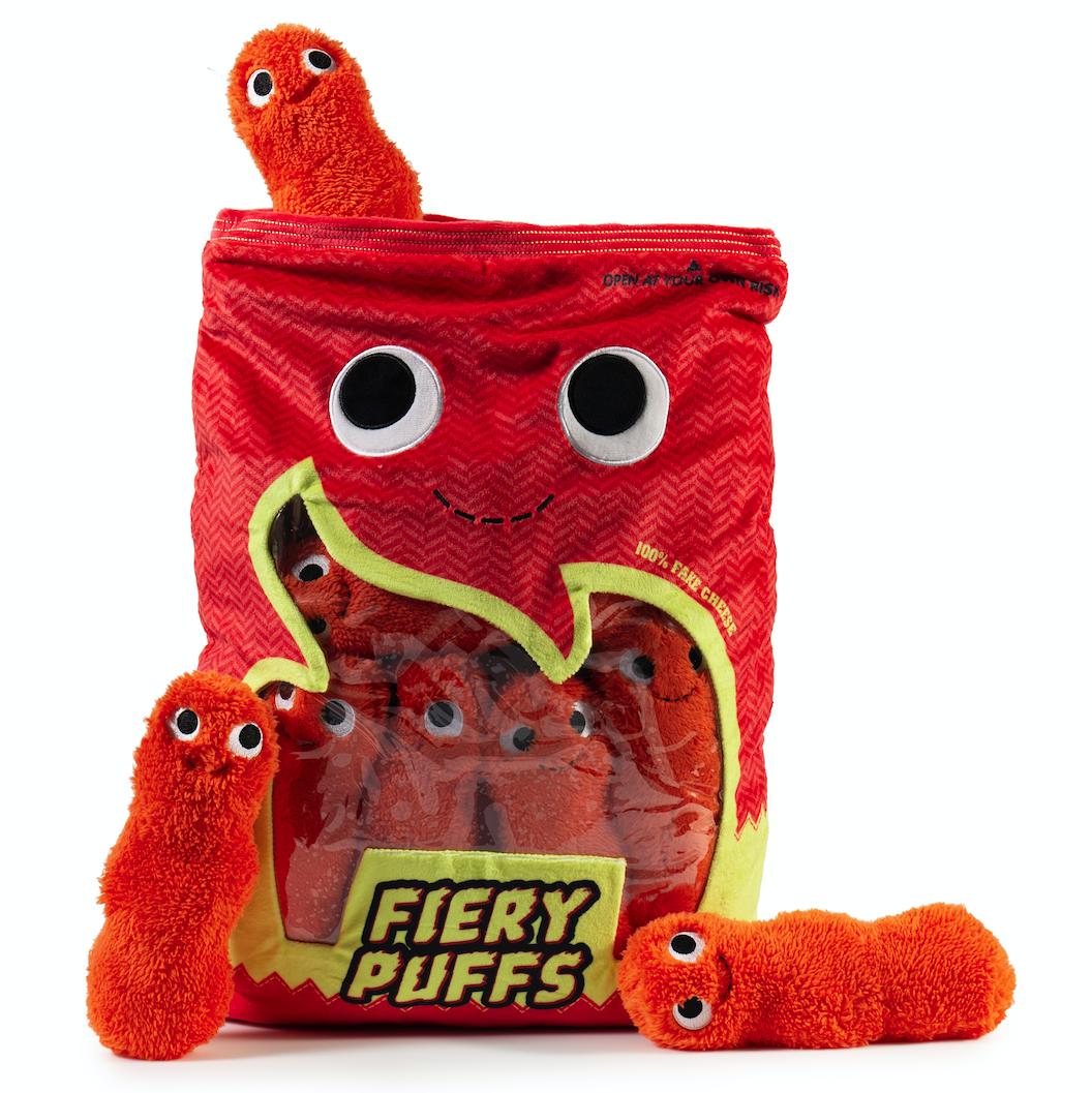 Kidrobot x Yummy World Xl Frye and the Fiery Puffs Plush