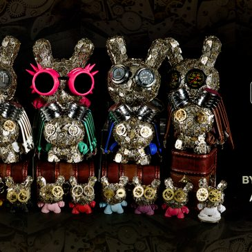 Kidrobot x Dan Tanenbaum's Watch Parts Dunny Series Online Now!