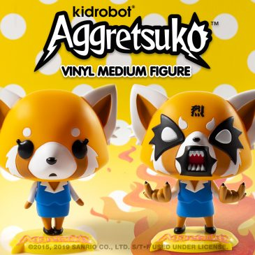 Kidrobot x Sanrio Aggretsuko Vinyl Art Figures Available Online Now!