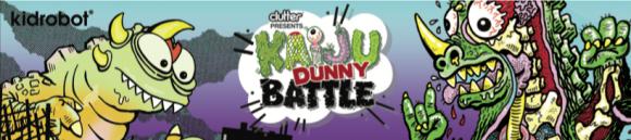 Kidrobot x Clutter Kaiju Dunny Art Mini Series