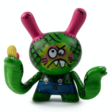 Kidrobot x Clutter Kaiju Dunny Battle Coming Soon!