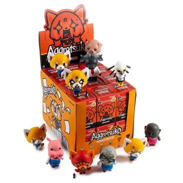 Kidrobot x Sanrio Aggretsuko Vinyl Mini Series Available Online Now!
