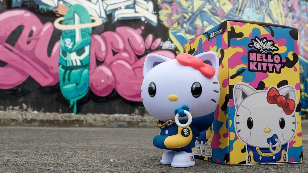 Kidrobot x Sanrio Helo Kitty Quiccs Art Figure