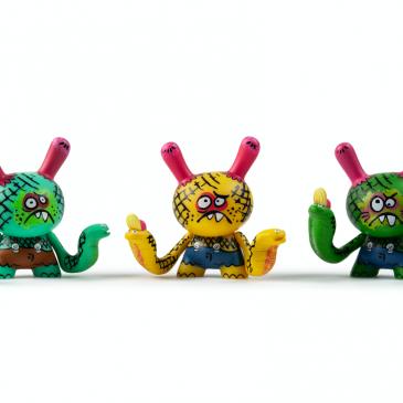 Kidrobot x Clutter Kaiju Dunny Battle Mini Series: Bwana Spoons!