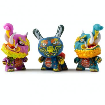 Kidrobot x Clutter Kaiju Dunny Battle Mini Series: Candie Bolton