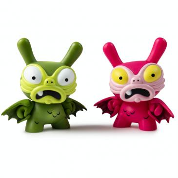 Kidrobot x Clutter Kaiju Dunny Battle Mini Series: Chauskoskis
