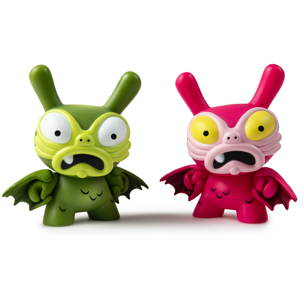 Kidrobot x Clutter Kaiju Dunny Mini Series baby G