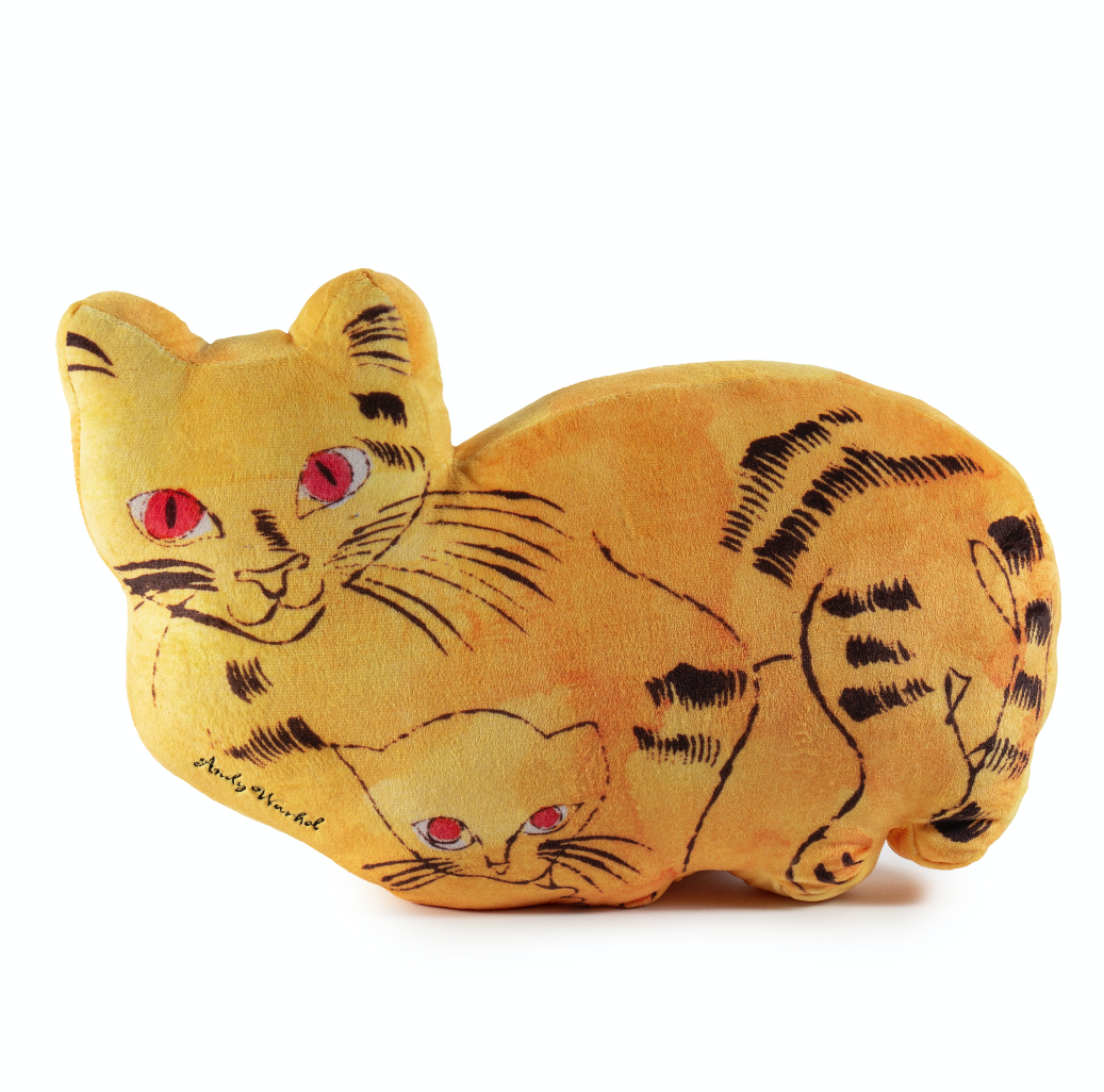 Kidrobot x Andy Warhol Cat Plush Pillows