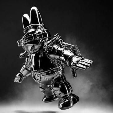 Kidrobot x Frank Kozik Labbiter XK-5 Art Figure