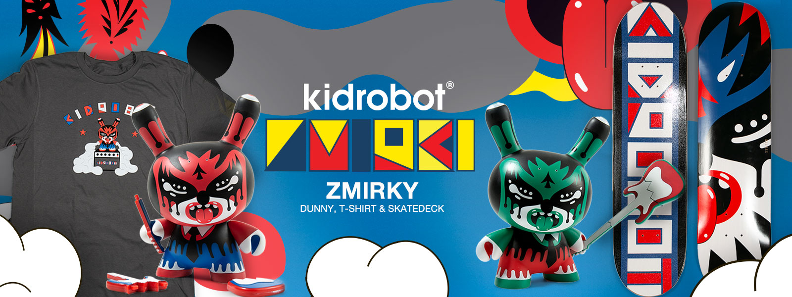"Zmirky 5"" Dunny Artist Capsule by Roman Klonek and Kidrobot"