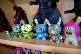 Kaiju Dunny Battle Mini Series by Kidrobot