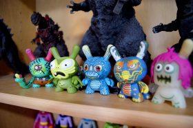 Kaiju Dunny Battle Mini Series by Kidrobot