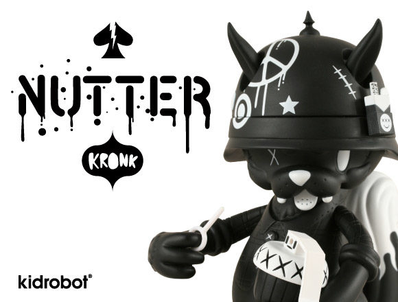 Kidrobot Nutter Art Figure by Kronk (2009)