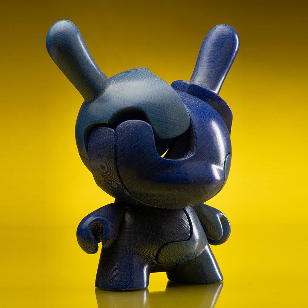 "KIDROBOT X LOCKNESTERS PUZZLE DUNNY 8"" ART FIGURE, NO.2 - KR EXCLUSIVE"