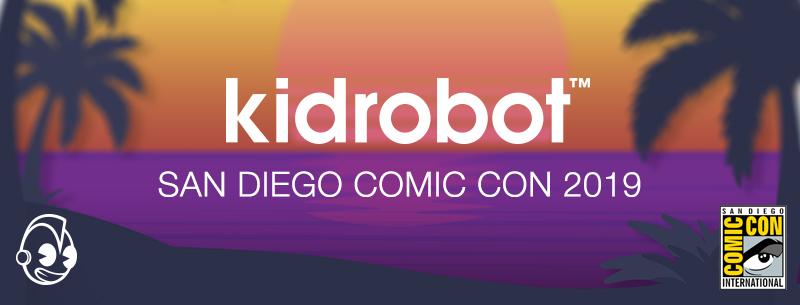 Kidrobot x San Diego Comic Con 2019