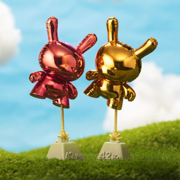 Elevate Your Kidrobot Collection with the 8″ Balloon Dunny Art Figure by Wendigo Toys