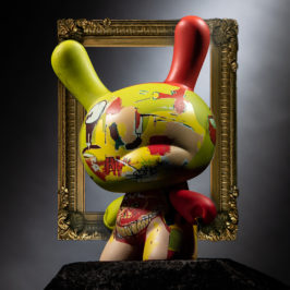 Kidrobot x Jean-Michel Basquiat 8-Inch Masterpiece Dunny - Wine of Babylon