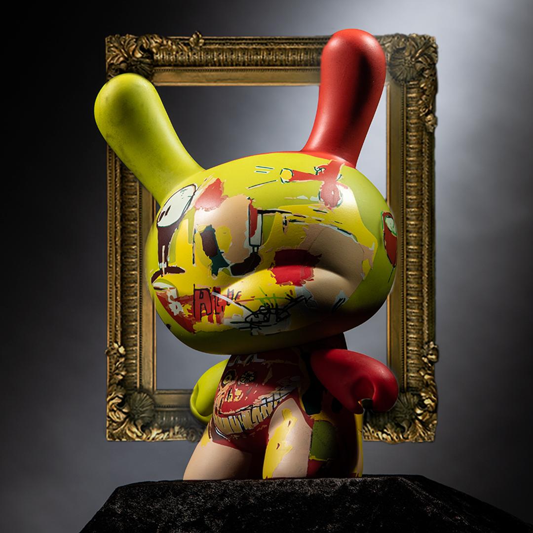 Kidrobot x Jean-Michel Basquiat 8-Inch Masterpiece Dunny - Wine of Babylon