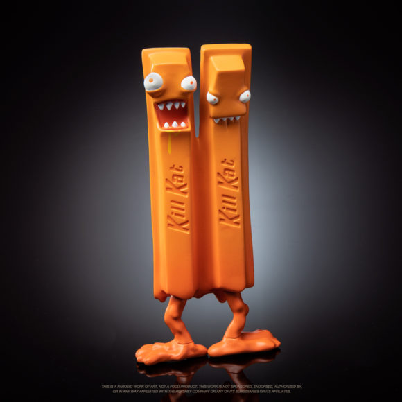 "Kill Kat - Pumpkin Spice Edition 6"" Art Figure by Andrew Bell"