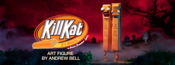 "Kill Kat - Pumpkin Spice Edition 6"" Art Figure by Andrew Bell"