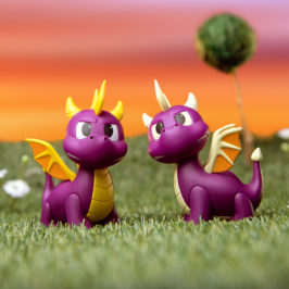 "Kidrobot x Spyro 3"" Vinyl Mini Series"