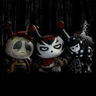 Meet the Goddesses of the Spiritus Dea 3-inch Dunny mini-series. Part Four: Death