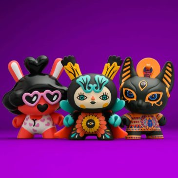 Meet the Goddesses of the Spiritus Dea 3-inch Dunny mini-series. Part Two: Life