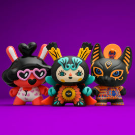 "Spiritus Dea 3"" Dunny mini Series"