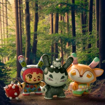 Meet the Goddesses of the Spiritus Dea 3-inch Dunny mini-series. Part Three: Nature