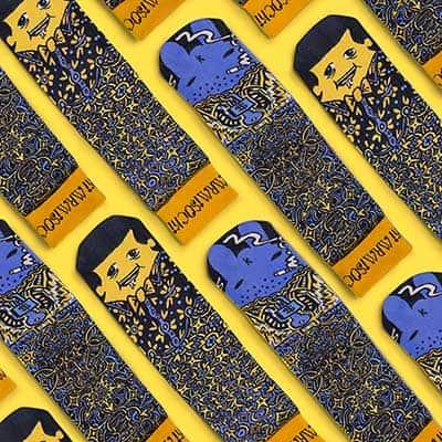 Kidrobot MrMiSocki Labbit Socks