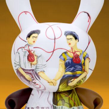 "Frida Kahlo 8"" Masterpiece Two Fridas Dunny Art Figure Drops"