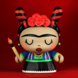 "Limited Edition Frida Kahlo 5"" Dunny drops January 28th at 10am MT"