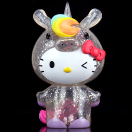 Hello Kitty Unicorn 8″ Art Figure Glitter Edition Gallops to Kidrobot.com