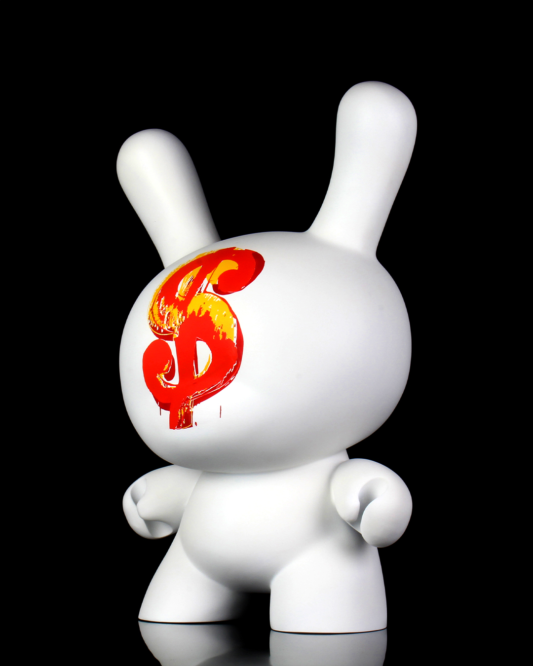 """Andy Warhol 20"""" Dollar Sign 1982 Dunny Sculpture"""
