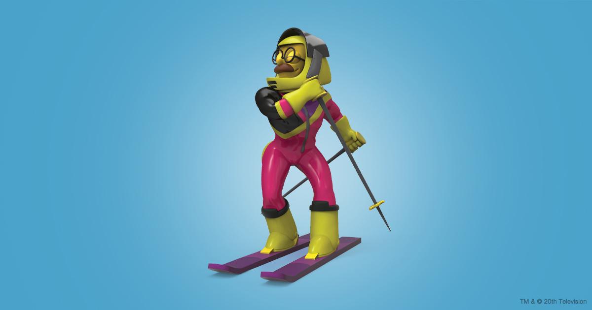 The Simpsons Stupid Sexy Flanders Figure by Kidrobot - Kidrobot.com Exclusive Neon Edition