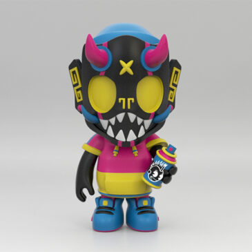 Kidrobot Exclusive Puck Little Painter 5″ Vinyl Figure by Chris Dokebi Pre-Sale Starts Now!