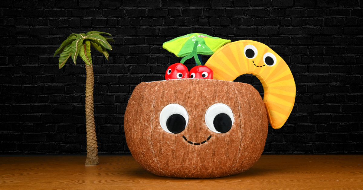 Happy Hour Pina Colada Plush by Kidrobot
