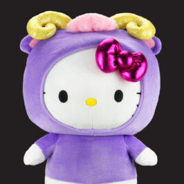 Hello Kitty Aries Zodiac Plush
