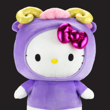 The Kidrobot x Hello Kitty® Zodiac Plush Series is out of this world!