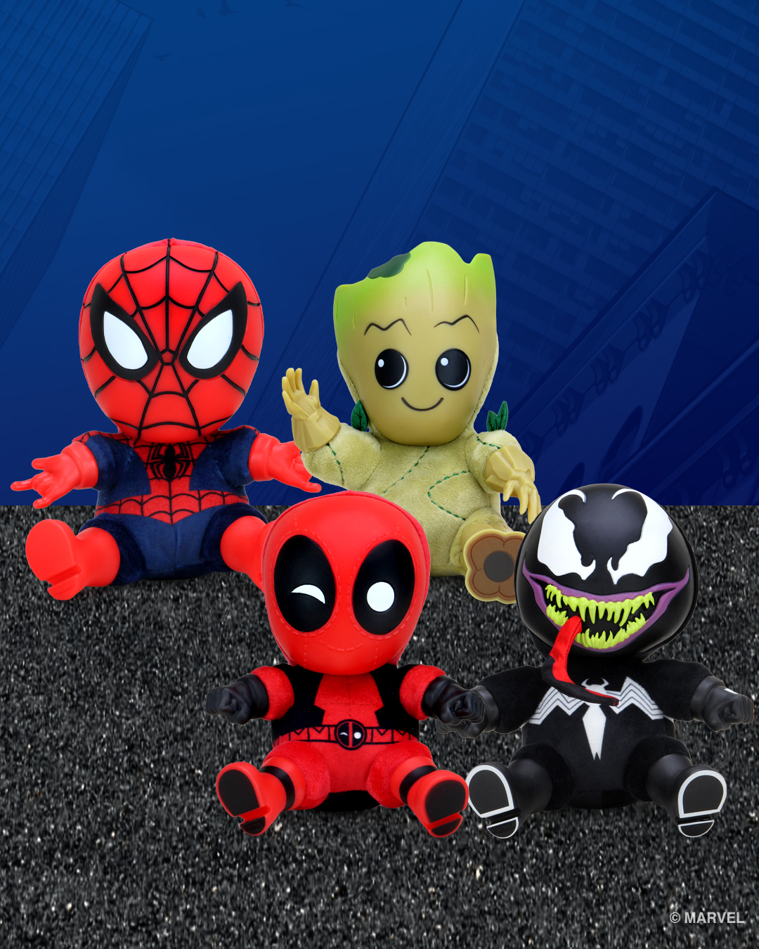 Roto-Phunny Toys by Kidrobot