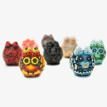 Limited pre-order window for Hand-beaded Littons from Arte Marakame begins Monday 8/30!
