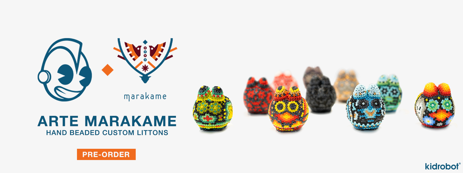Arte Marakame Custom Beaded Litton Labbit Art Figures