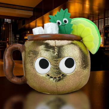 Give your plush collection a kick with the Happy Hour Moscow Mule Plush!