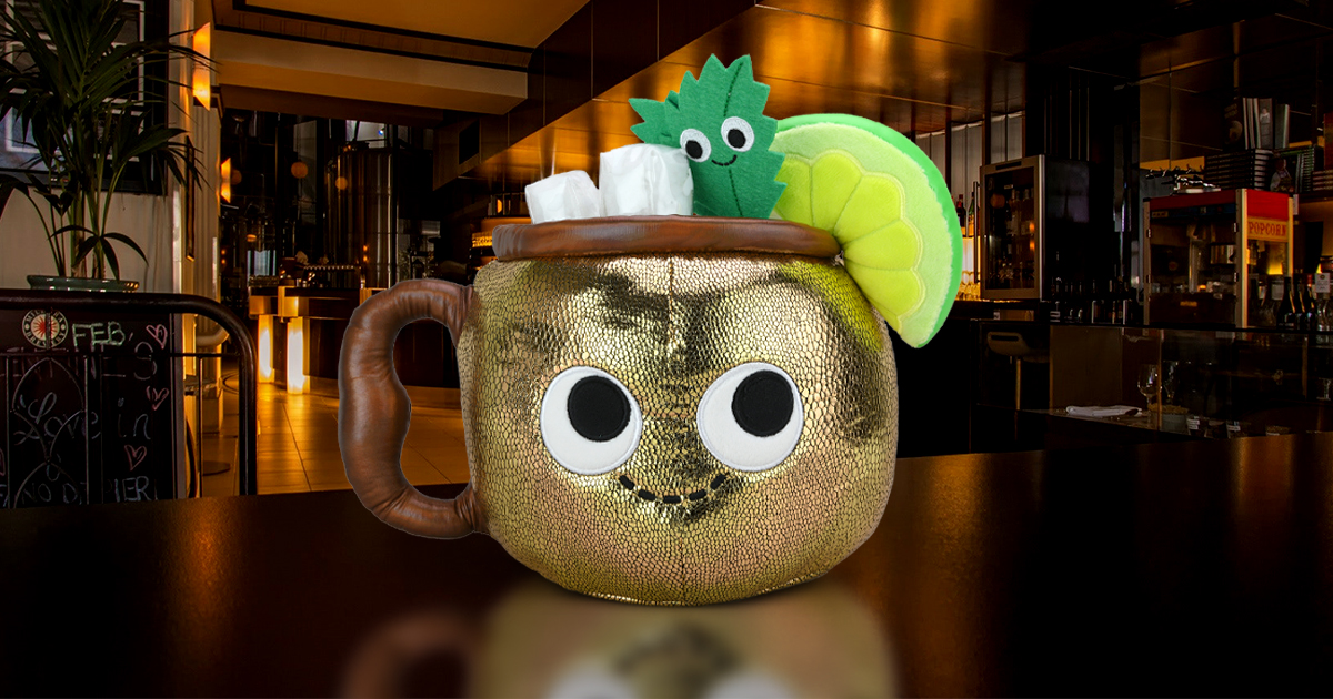 Happy Hour Plush - Max the Moscow Mule - New from Kidrobot