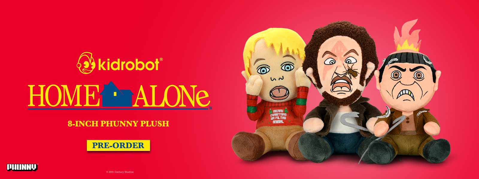 Kidrobot x Home Alone 30th Anniversary Collection