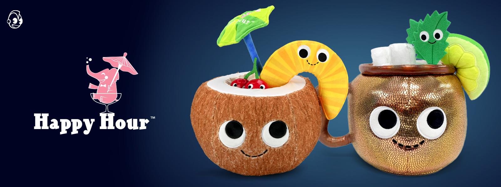Happy Hour Plush by Kidrobot