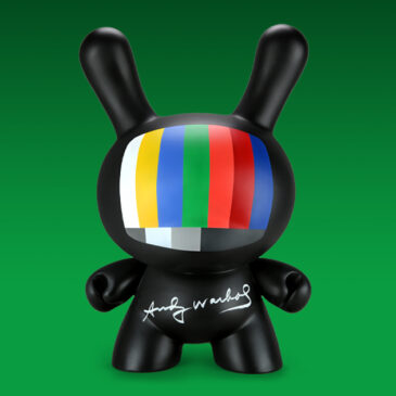 """Seize your fame! Super limited Andy Warhol """"Fifteen Minutes"""" 20-inch Dunny drops today"""