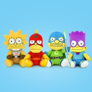 NEW The Simpsons Plush Alter-egos Fly in at Kidrobot.com